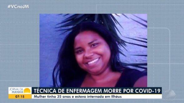 Técnica de enfermagem de 35 anos morre de Covid-19 no Hospital Costa do Cacau 1
